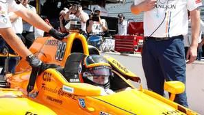 El piloto español Fernando Alonso ha terminado la segunda jornada de entrenamientos en la Indy