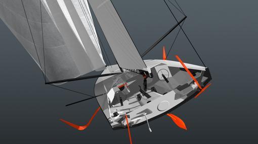 Los foils le darán más espectacularidad a la regata