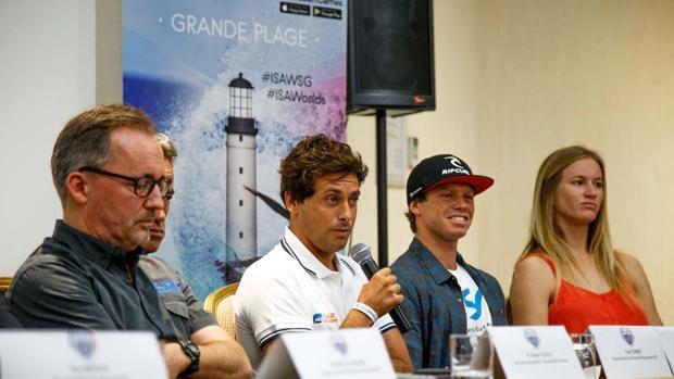 Presentados los ISA World Surfing Games 2017 de Biarritz