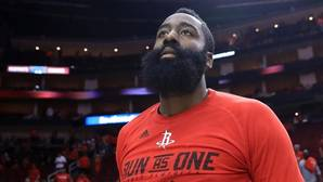 James Harden, durante los playoffs NBA