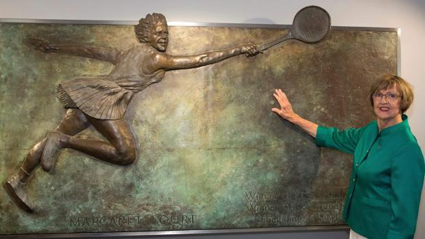 La exjugadora de tenis, Margaret Court