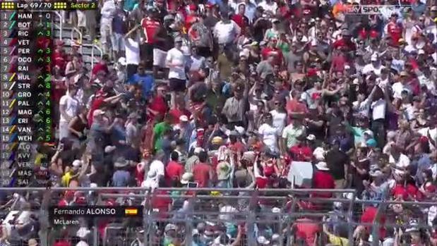 Fórmula 1 | GP de Canadá:  Alonso, de la pista a la grada