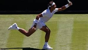 Nadal, en su último Wimbledon, en 2015