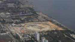 Estado actual de las obras en Volgogrado, una de las sedes del Mundial 2018