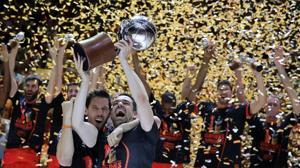 El Valencia se queda con la Liga a la primera