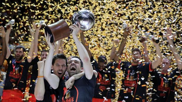 El Valencia, campeón de la Liga ACB