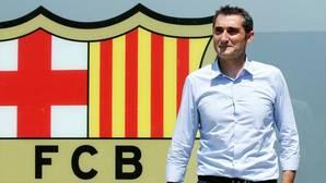 Ernesto Valverde, presentado como nuevo entrenador del conjunto azulgrana.