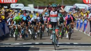 Jan Bakelants, en su victoria de etapa en el Tour de 2013