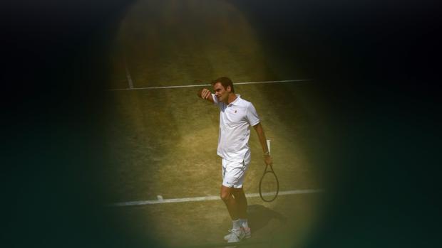 El tenista suizo, Roger Federer