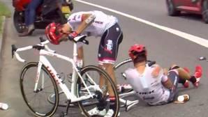Otra caída de Contador