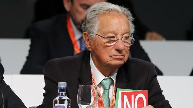 Juan Padrón, vicepresidente de la RFEF, en una imagen de marzo de 2016