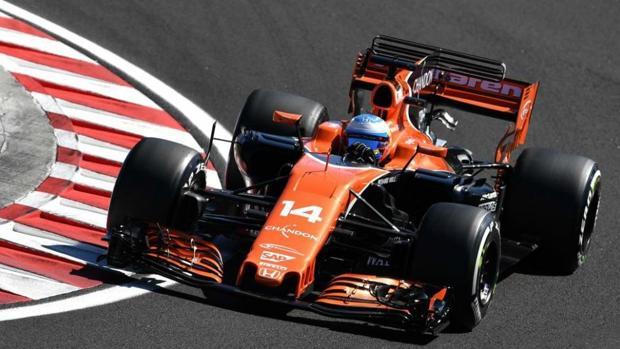 El monoplaza de Fernando Alonso