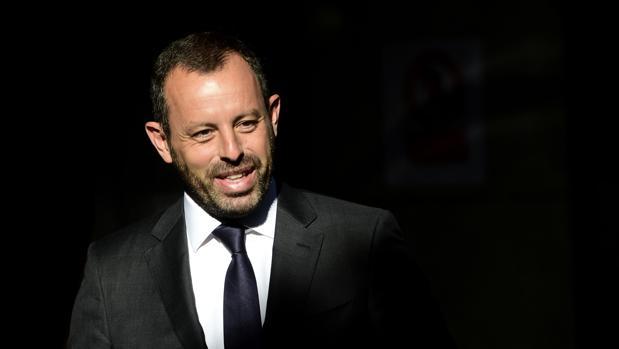 El ex presidente del Barcelona, Sandro Rosell