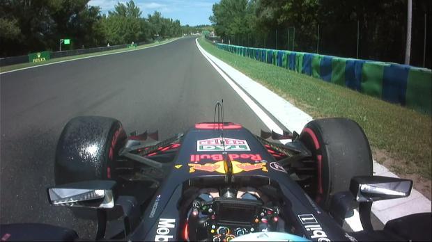Daniel Ricciardo, tras verse fuera de carrera en la primera vuelta