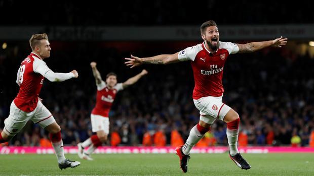 Resultado Arsenal-Leicester:  Agónica remontada del Arsenal en el estreno de la Premier League