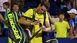 Rafael Nadal, al perder su partido de octavos de final