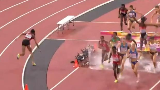 Atletismo   Mundial de Londres:  La keniana que se saltó la ría
