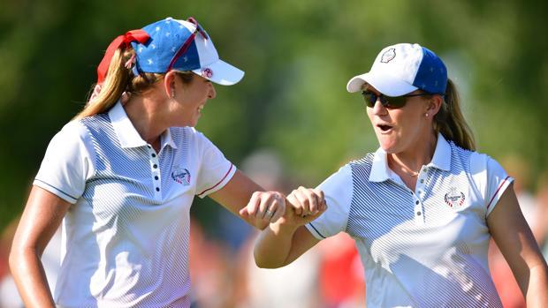 Las golfistas estadounidenses están dando todo en recital en Iowa