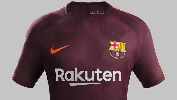 5c8d684bfd Así es la tercera equipación del Barça