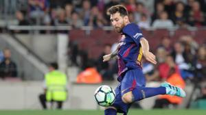 Otra exhibición de Messi