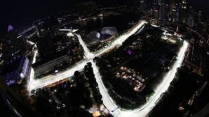 El circuito del GP de Singapur
