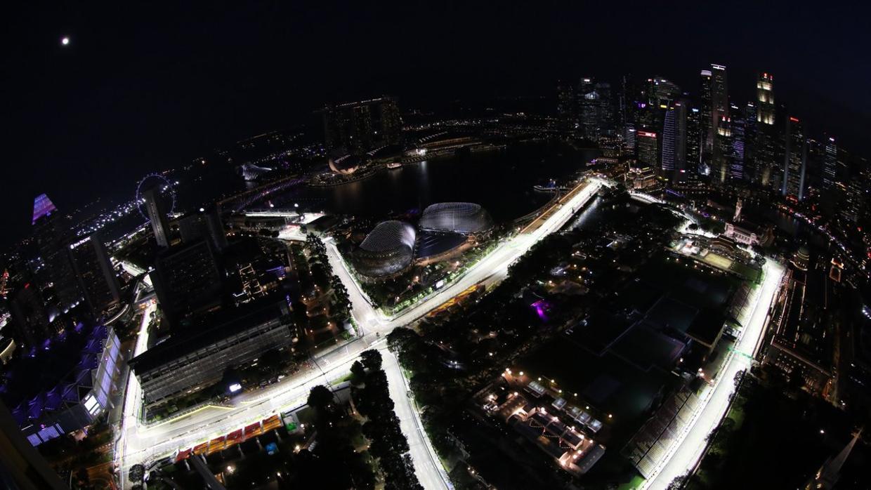 Circuito Singapur : Fórmula 1: horario y tv del gp de singapur