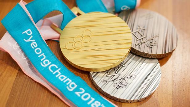 Las tres medallas olímpicas