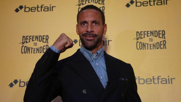 Rio Ferdinand anunció el pasado martes que quiere ser boxeador profesional
