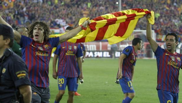 Visca Barça, visca el Catalunya puyol ile ilgili görsel sonucu