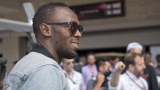 Usain Bolt, en Austin