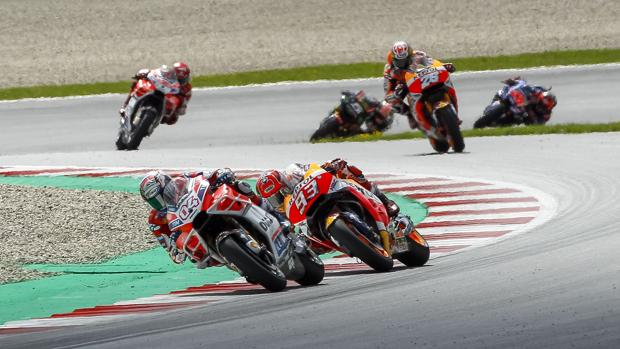 Doviziosoy Márquez, en el Gran Premio de Austria