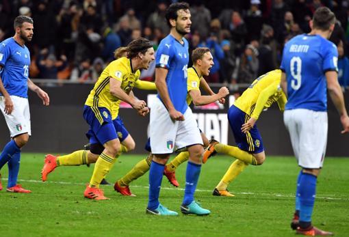 Suecia dejó fuera a Italia