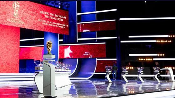 Escenario en el que se va a celebrar el sorteo de la fase de grupos del Mundial 2018
