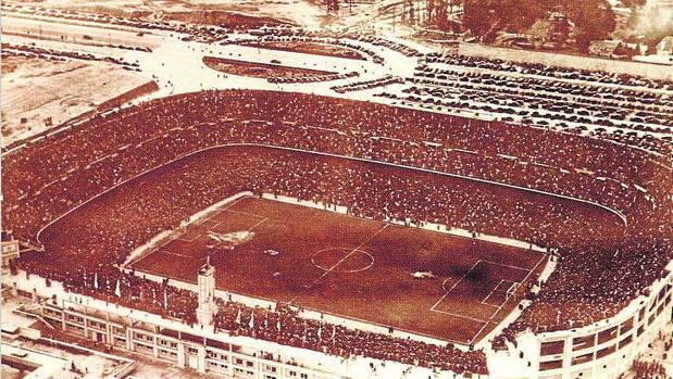 El Santiago Bernabéu, en 1947
