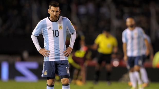 Omitir este paso Leo Messi durante un partido con Argentina 90e6c223071b8