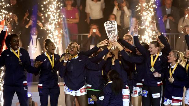 La selección francesa de balonmano, campeona del mundo
