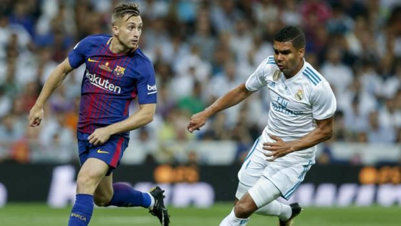 Inglaterra e Italia tocan a la puerta de dos jugadores del Barcelona