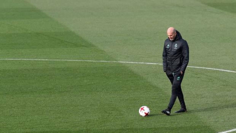 Zidane: «A los Reyes le pido salud, no un portero o un delantero»