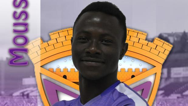 Moussa, en la imagen de club