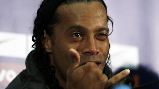 Ronaldinho, en una foto de archivo de 2014