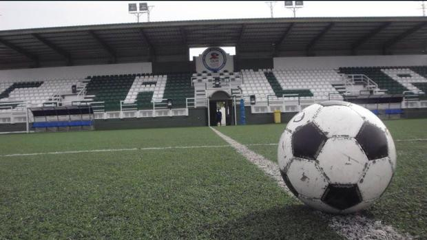 Imagen del Campo Municipal de Calpe, estadio del conjunto alicantino