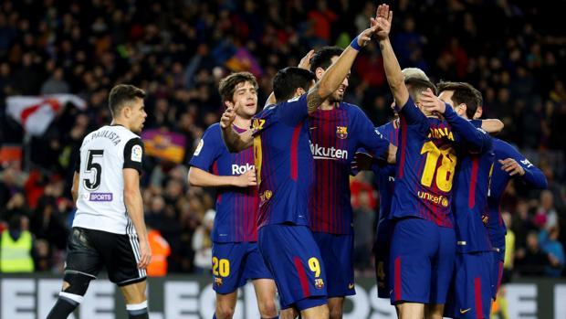 Deportes Efe Fc Barcelona Valencia