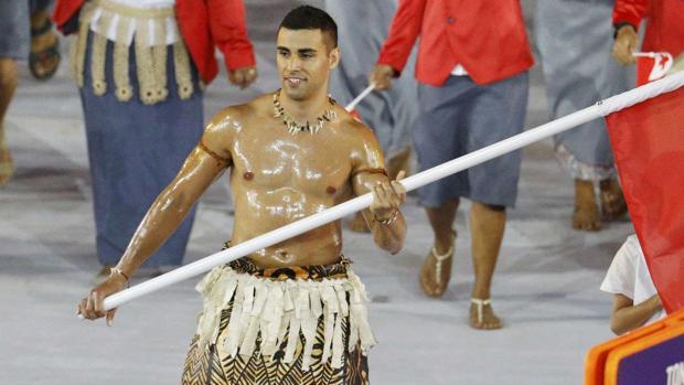 Pyeongchang 2018 Pita Taufatofua El Torso Mas Famoso De Rio 2016