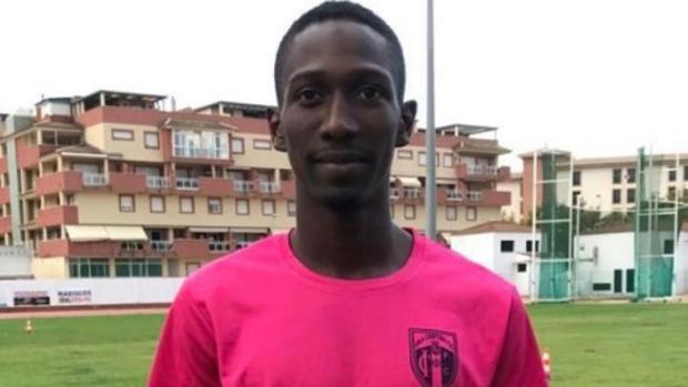 Lay, jugador del Isla Cristina que fue insultado gravemente este domingo