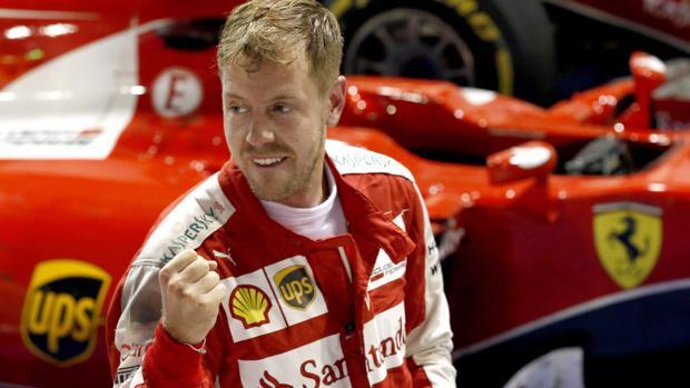 Vettel, durante el último Mundial de F1