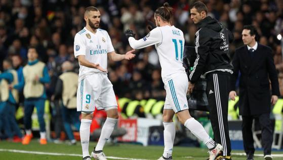 Bale entra por Benzema