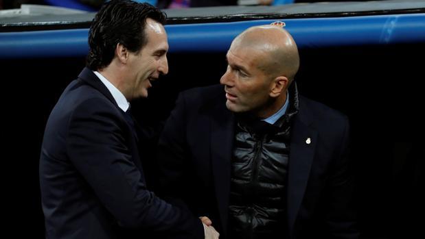 La lección de Zidane a Unai
