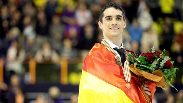 Javier Fernández, oro en el Europeo de Zagreb 2013