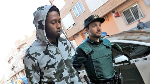 Semedo, conducido por la Guardia Civil