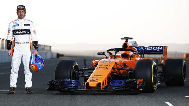Alonso y su nuevo monoplaza